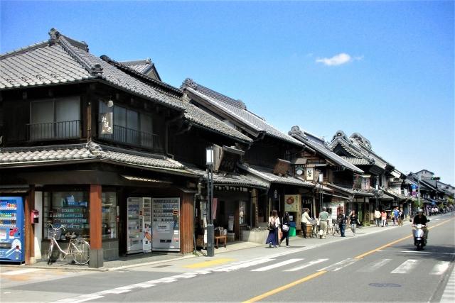 kawagoe town