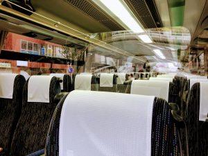 バス車内感染予防対策